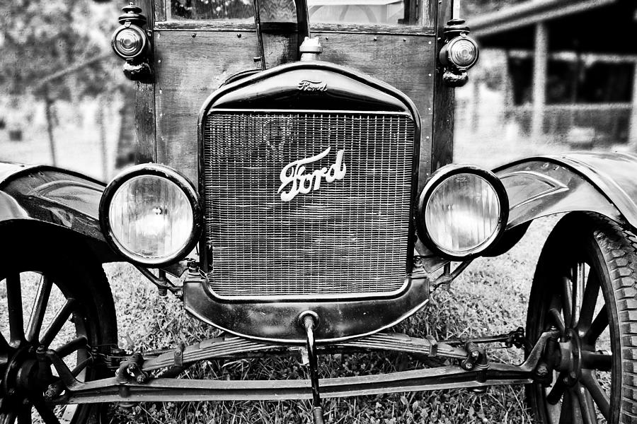 Vintage Ford in Black and White by Colleen Kammerer
