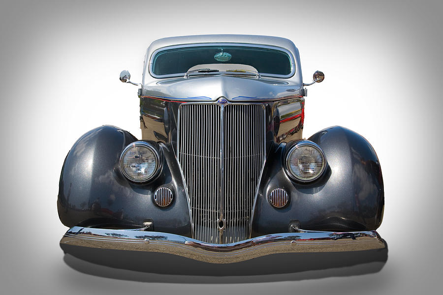 Automobile Photograph - Vintage Ford by Peter Tellone