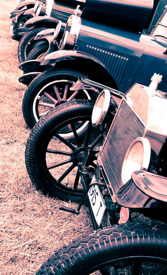 Ford Model T Photograph - Vintage Fords by Phil motography Clark