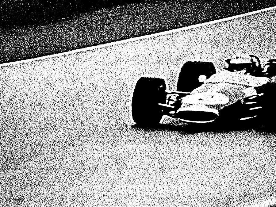 Formula 1 racing photograph vintage formula 1 racer by george pedro