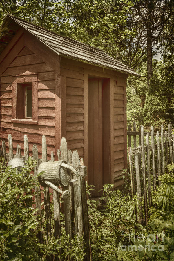 Shed Photograph - Vintage Garden by Margie Hurwich