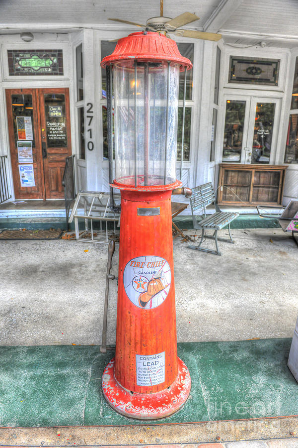 Vintage Gas Pump Photograph