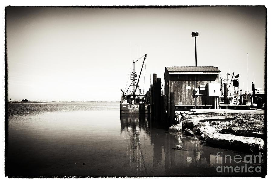 Bay Photograph - Vintage Lbi Bay by John Rizzuto