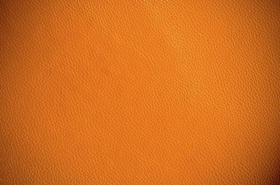 Vintage Leather Texture Photograph by Primeimages