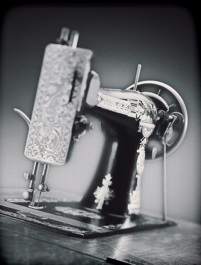 Vintage Photograph - Vintage Machine by Kelley King