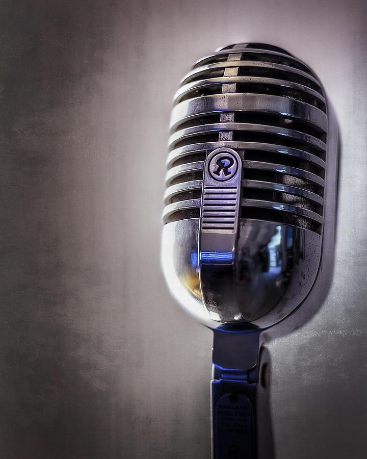 Vintage Microphone 2 Photograph