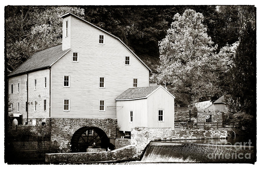 Vintage Mill Photograph - Vintage Mill by John Rizzuto