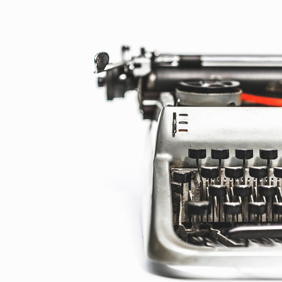 Vintage Old Typewriter Photograph by Deimagine
