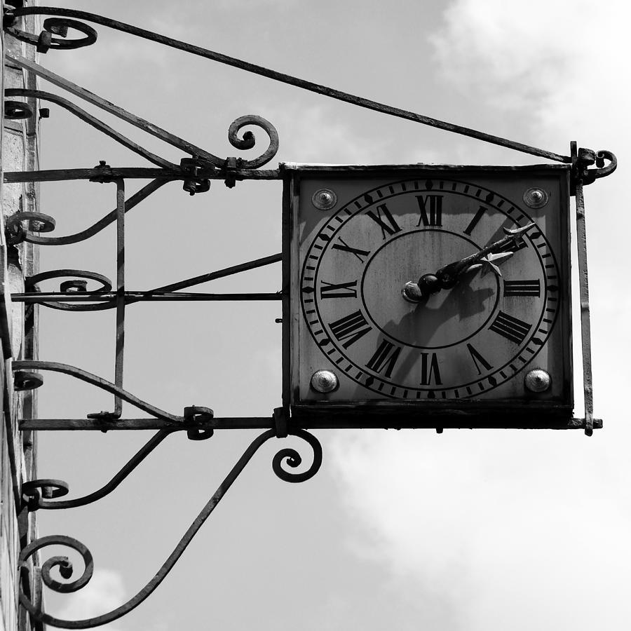 Paris Photograph - Vintage Paris Clock 2 by Andrew Fare