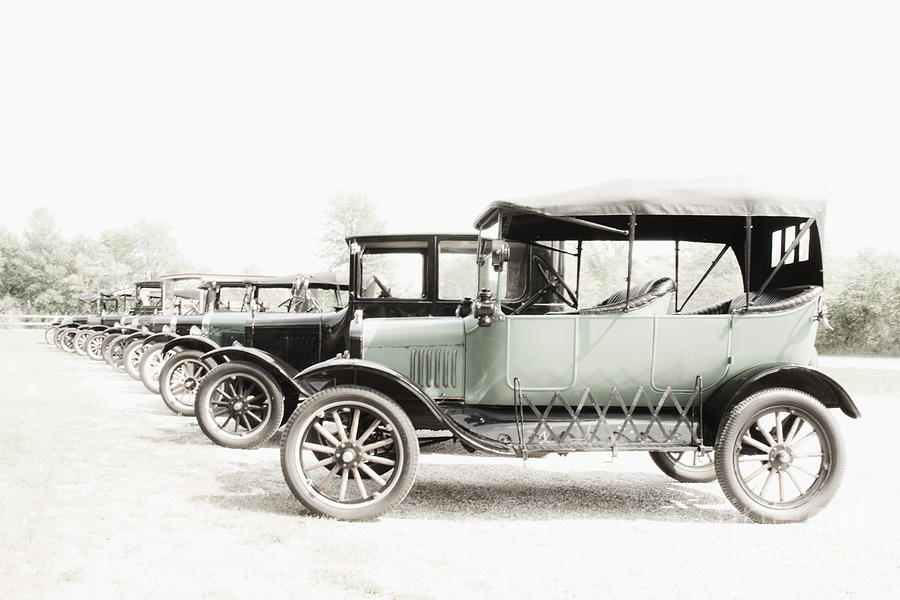 Vintage Parking Photograph by Margie Hurwich