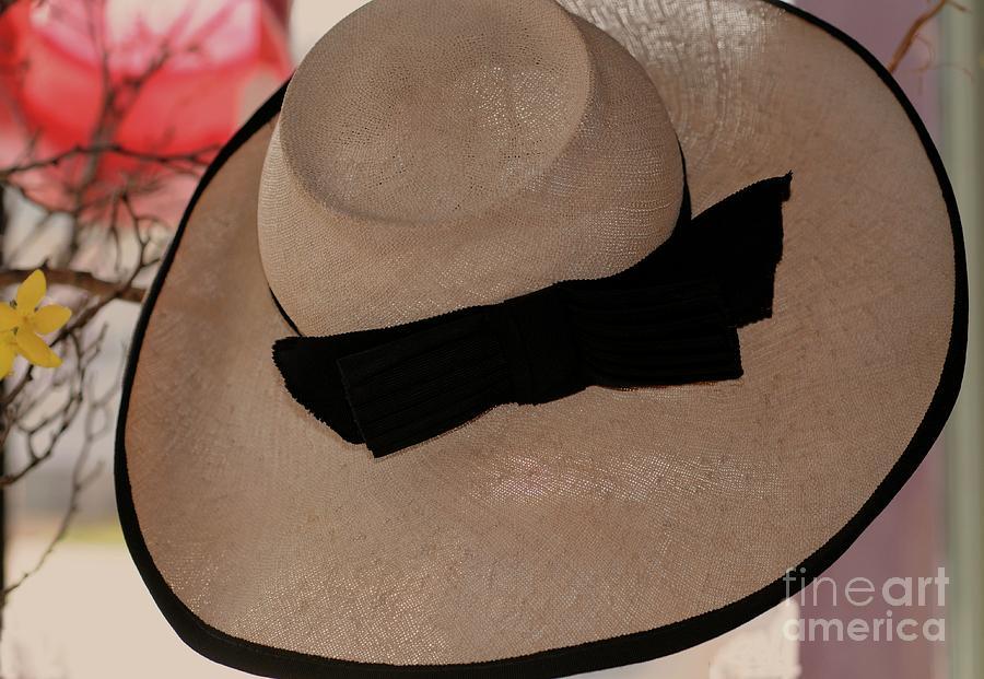Vintage Photograph - Vintage Picture Hat by Kathleen Struckle