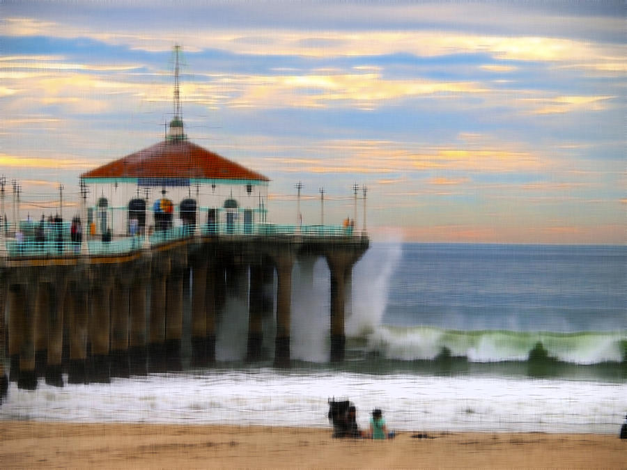 Pier Photograph - Vintage Pier by Joe Schofield