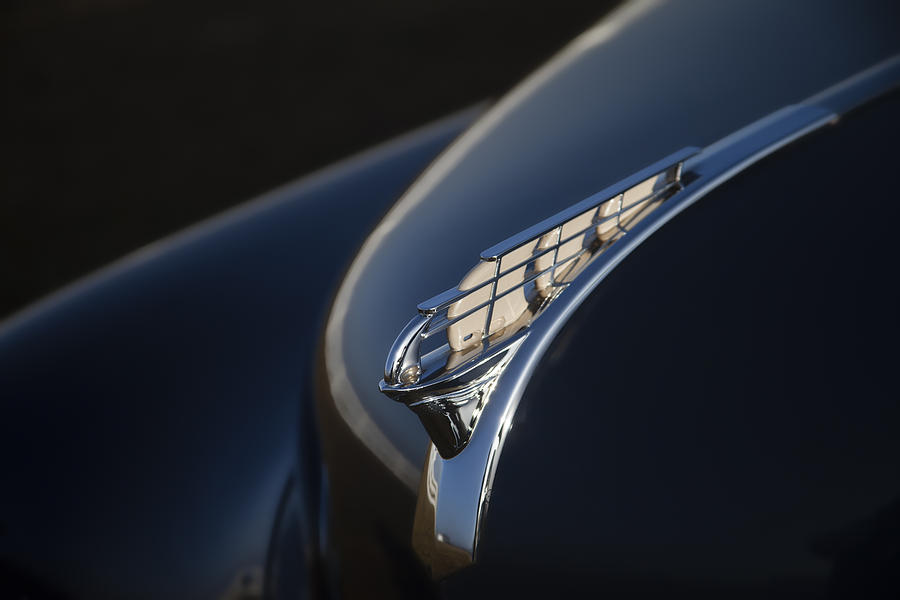 Plymouth Photograph - Vintage Plymouth Hood Ornament by Carol Leigh