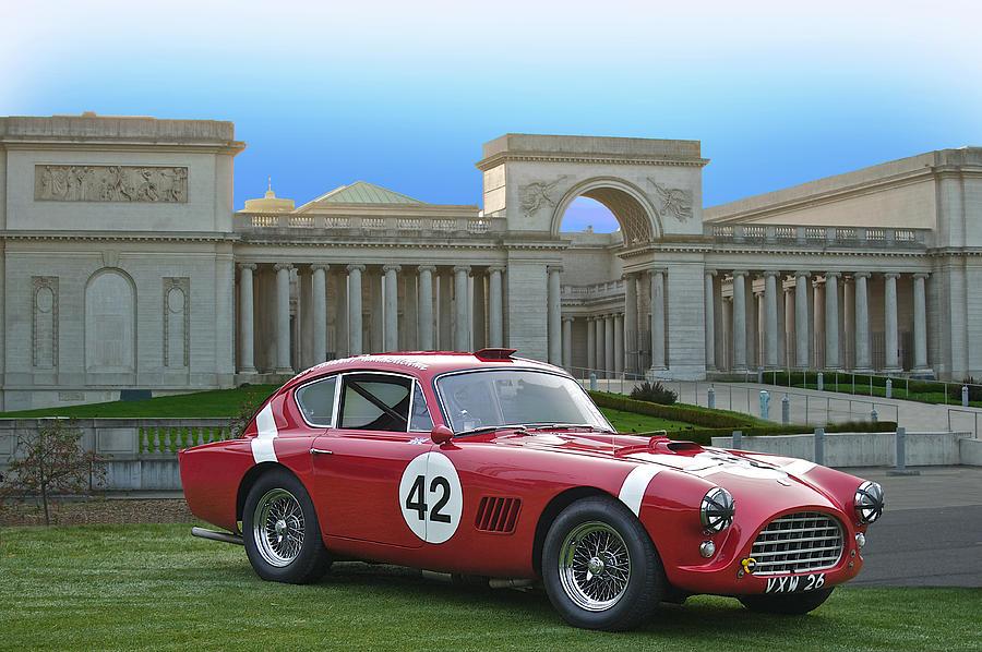 Vintage Race Car No. 42 Photograph
