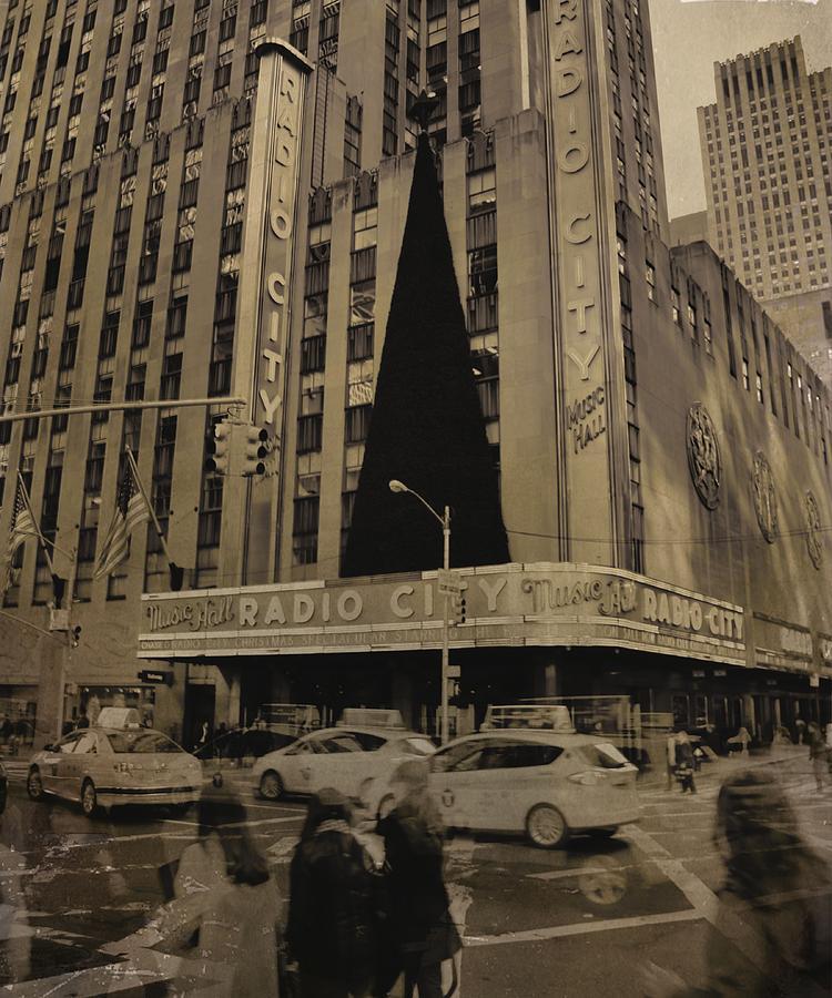 Radio City Music Hall Photograph - Vintage Radio City Music Hall by Dan Sproul