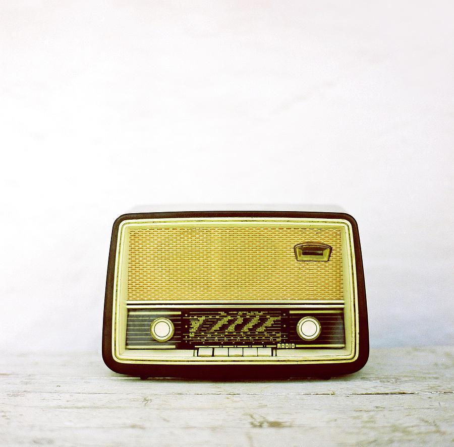 Vintage Radio Photograph by Thanasis Zovoilis