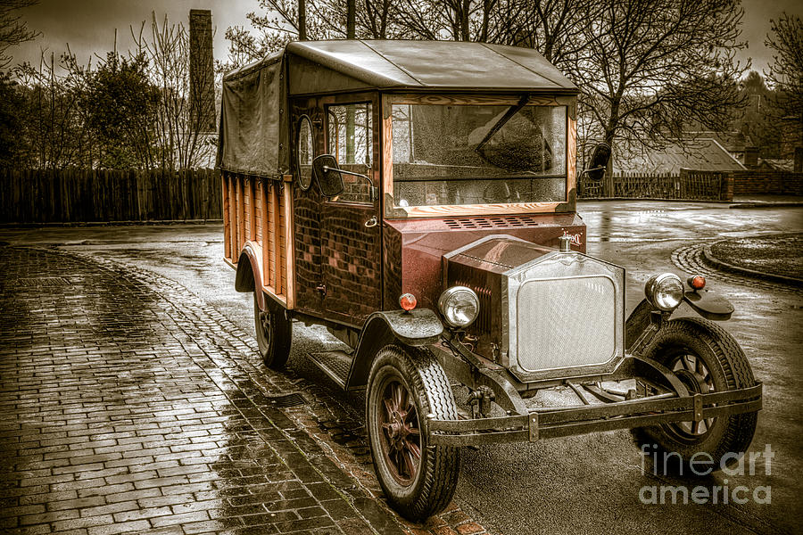 Hdr Photograph - Vintage Replica by Adrian Evans