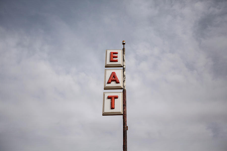 Vintage Road Sign Photograph by Bill Hornstein