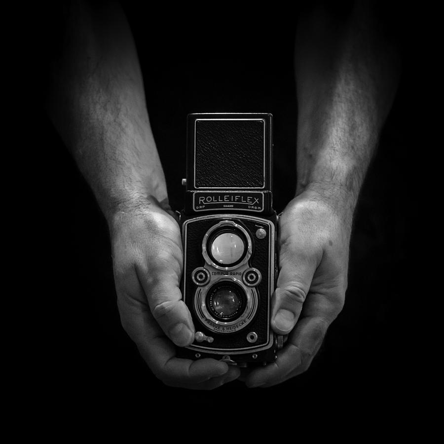 Vintage Photograph - Vintage Rolleiflex by Rod Sterling