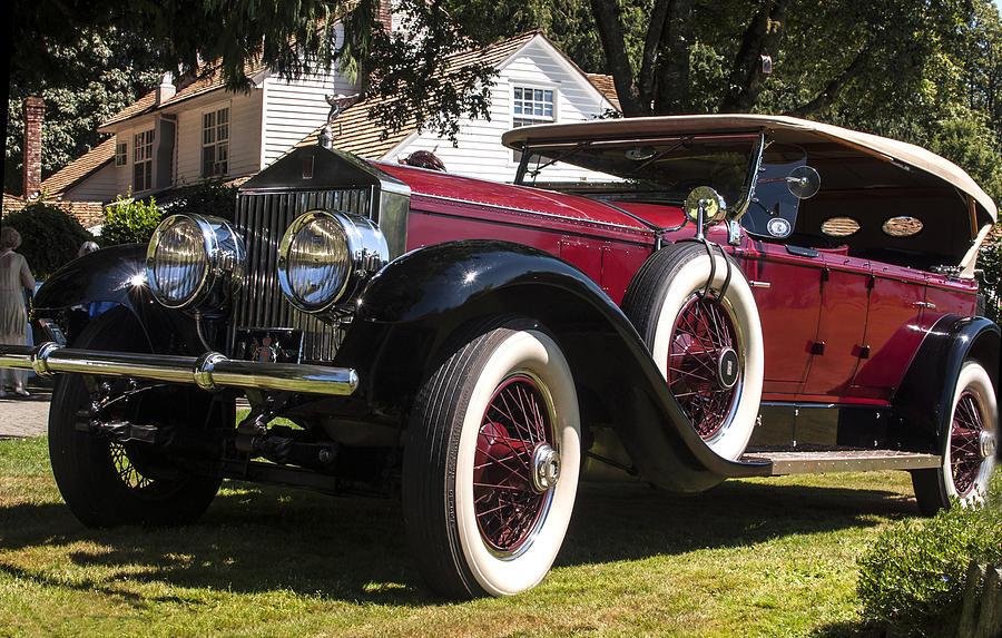 Cars Photograph - Vintage Rolls Royce Phantom by Photos By Pharos