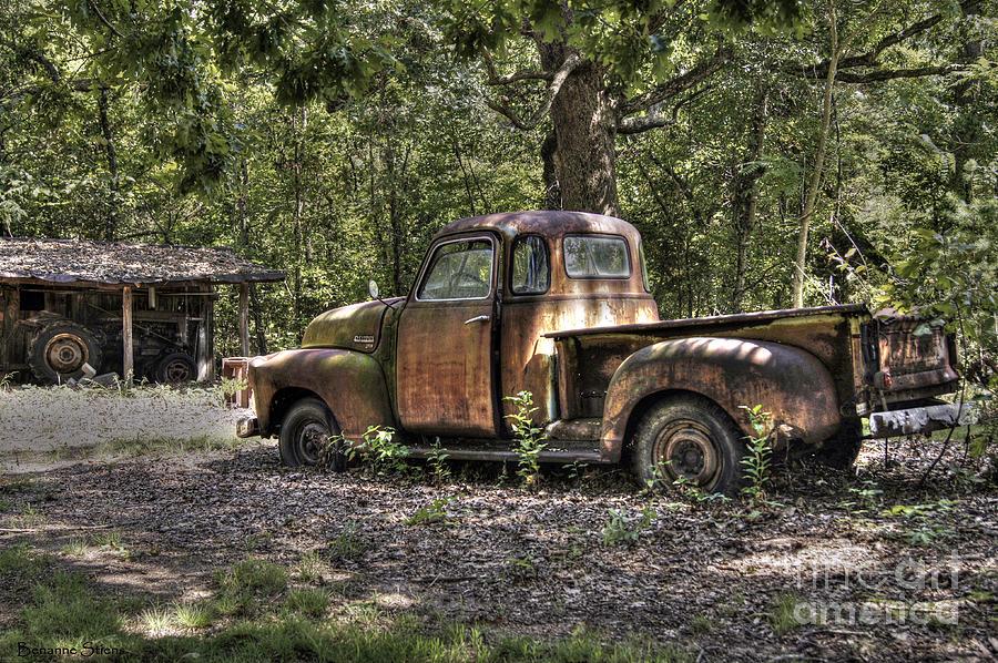Chevrolet Photograph - Vintage Rust by Benanne Stiens