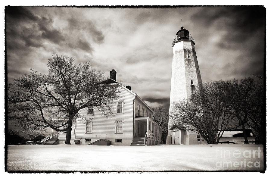 Vintage Sandy Hook Photograph - Vintage Sandy Hook by John Rizzuto