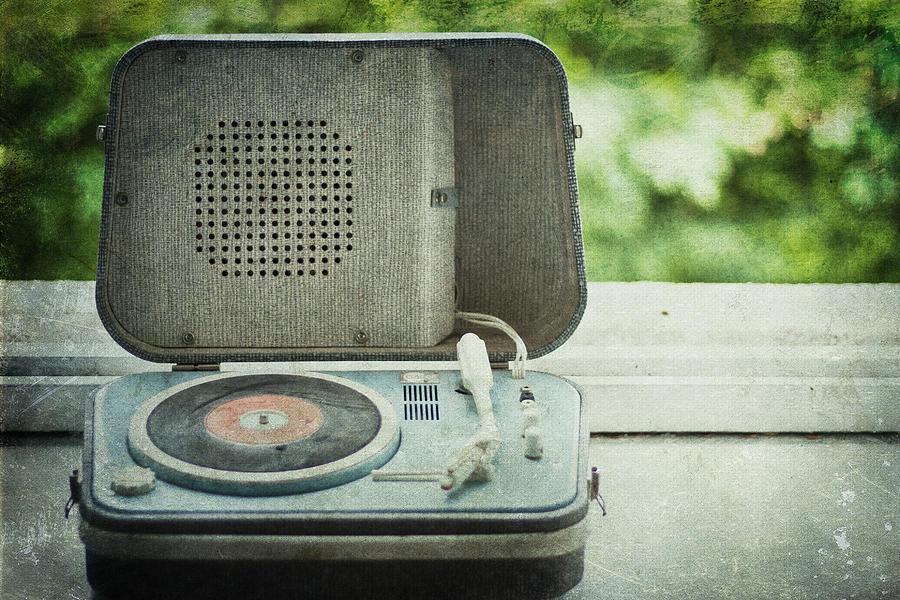 Antique Photograph - Vintage Sounds by Georgia Fowler