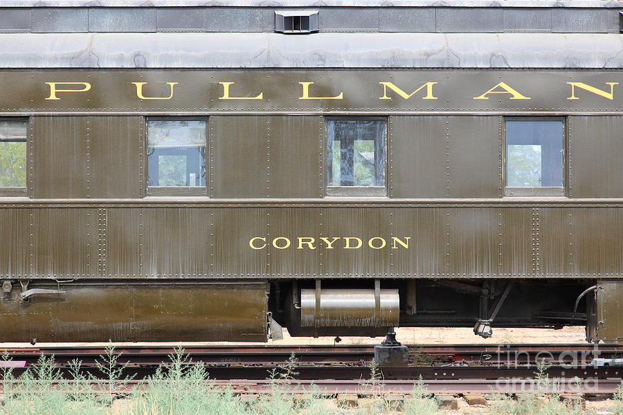 vintage southern pacific 2144 pullman car company corydon passenger train 5d28335 photograph by. Black Bedroom Furniture Sets. Home Design Ideas