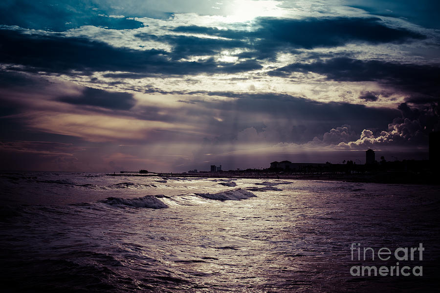 Vintage Photograph - Vintage Sunset by Will Cardoso