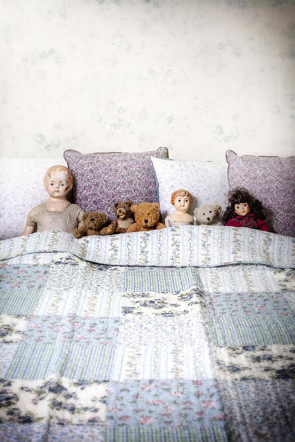 Doll Photograph - Vintage Toys by Joana Kruse