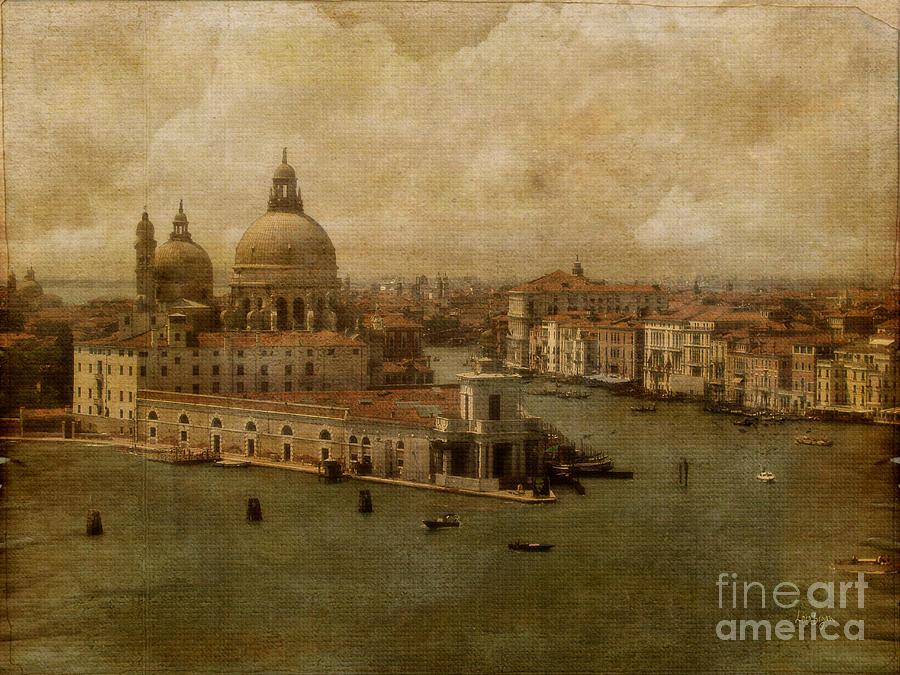 Venice Photograph - Vintage Venice by Lois Bryan