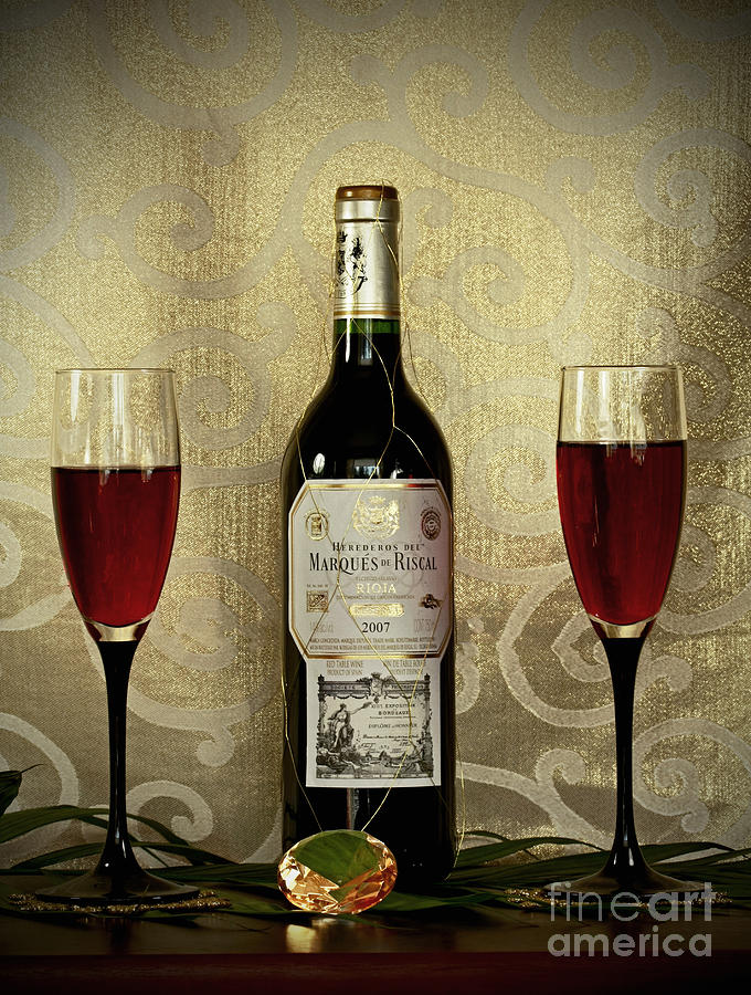 Vintage Wine Lovers Photograph - Vintage Wine Lovers by Inspired Nature Photography Fine Art Photography