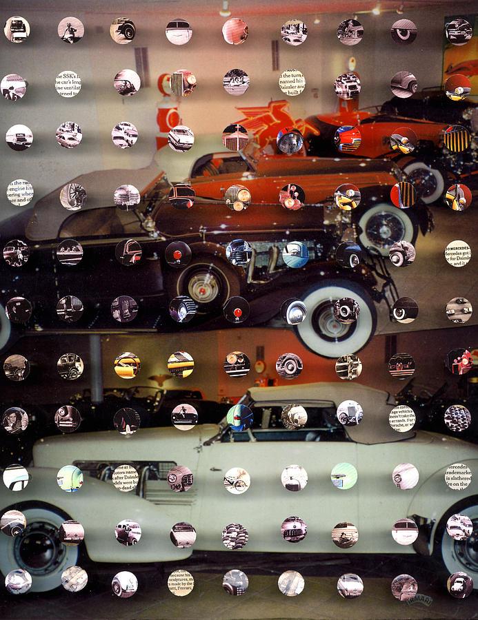 Collage Mixed Media - Vintagecars2 by Irmari Nacht