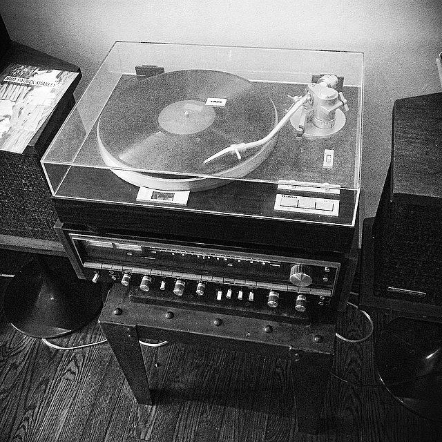 Blackandwhite Photograph - Vinyl Seduction  #nyc #newyork by Matthew Bryan Beck