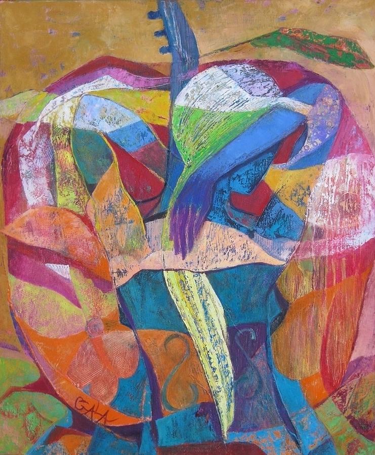 Viola Painting - Viola by GALA Koleva