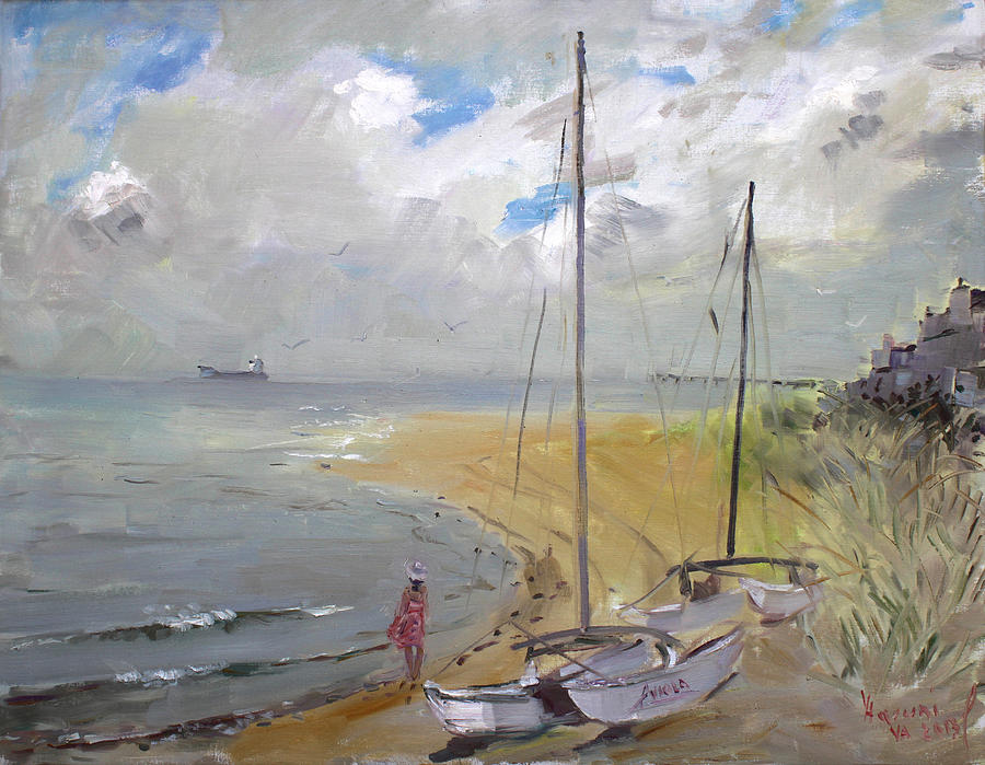 Virginia Beach Painting - Viola In Virginia Beach by Ylli Haruni