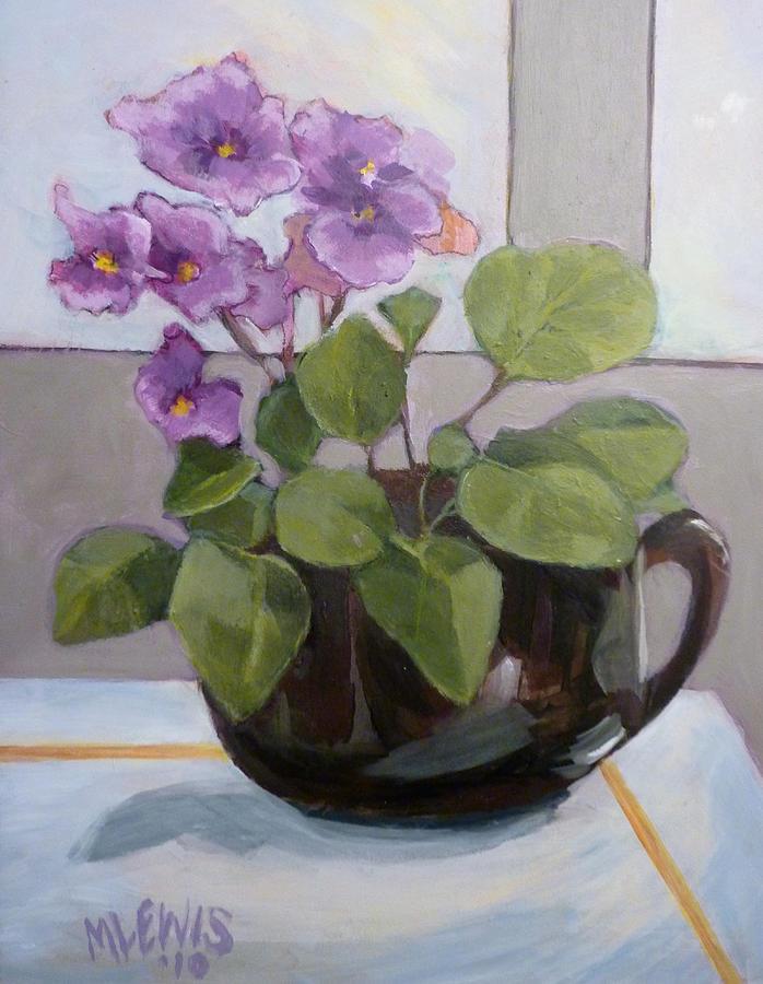 Violets by Melanie Lewis
