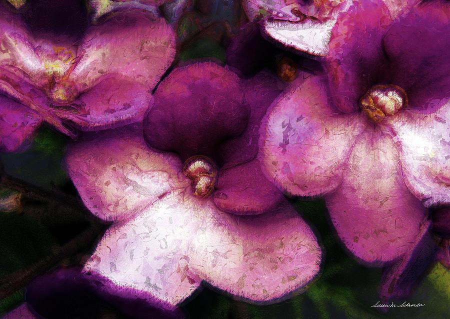 Violets No. 2 by Susan Schroeder