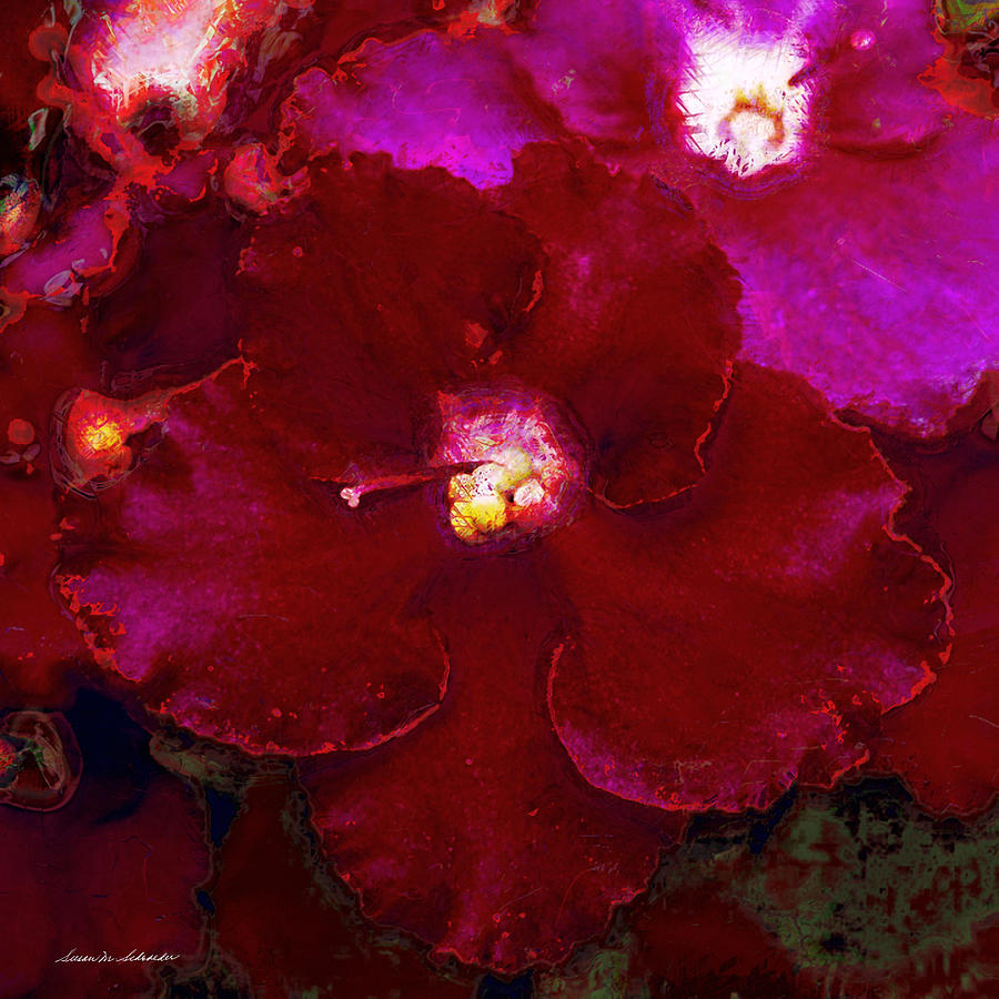 Violets No. 3 by Susan Schroeder