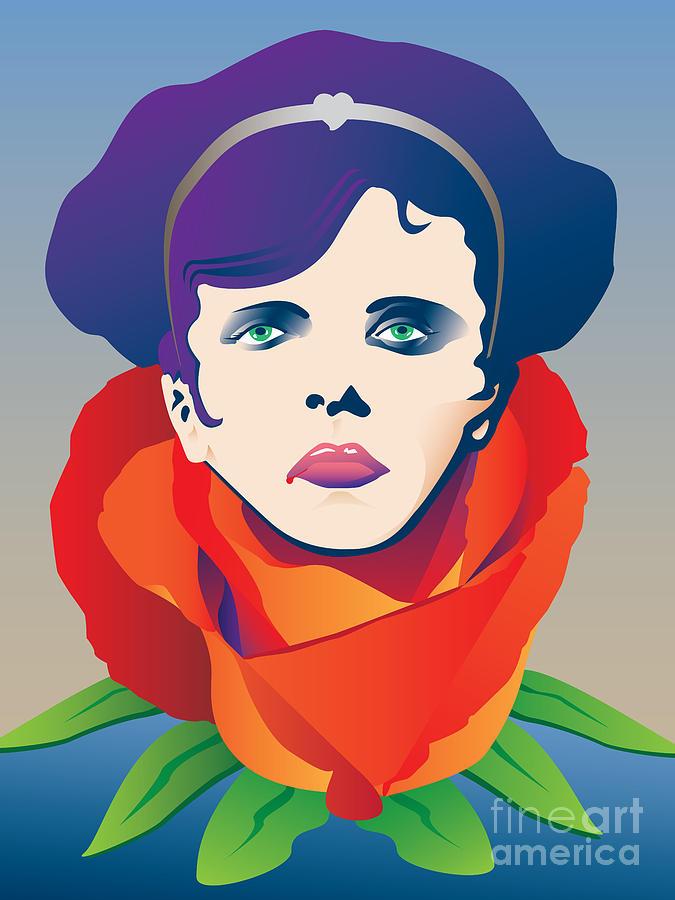 La Traviata Digital Art - Violetta of La Traviata by Joe Barsin