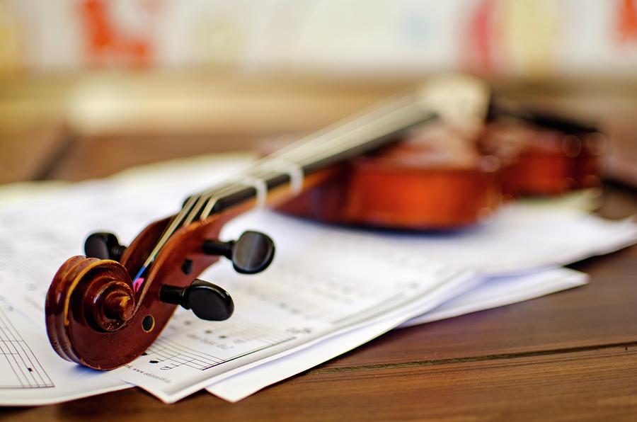 Violin Photograph by Ana Guisado Photography
