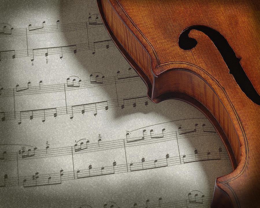 Art Photograph - Violin by Krasimir Tolev