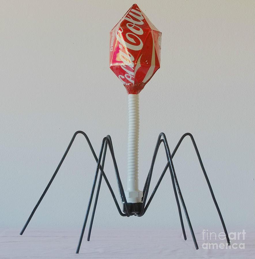 Virus Sculpture - Viral Marketing by Franco Divi