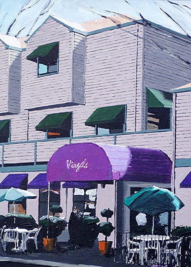 Sacramento Painting - Virgas by Paul Guyer