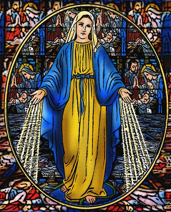 Virgen de la Milagosa by Bibi Rojas