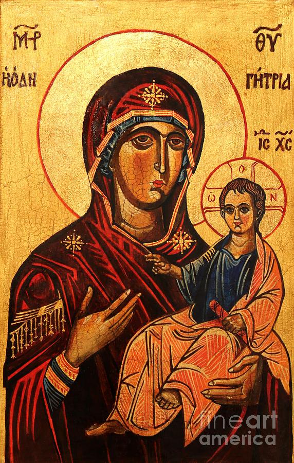 Virgin Hodegetria Painting
