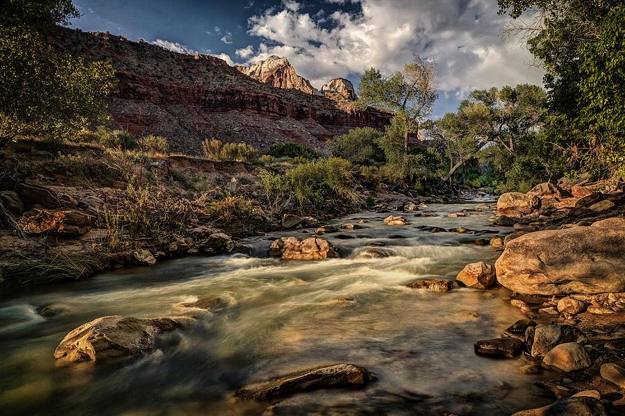 Jeff Photograph - Virgin River by Jeff Burton