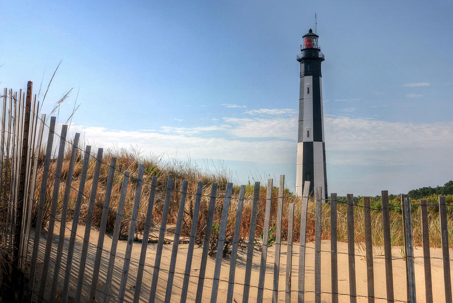 Lighthouse Photograph - Virginia Beach by JC Findley