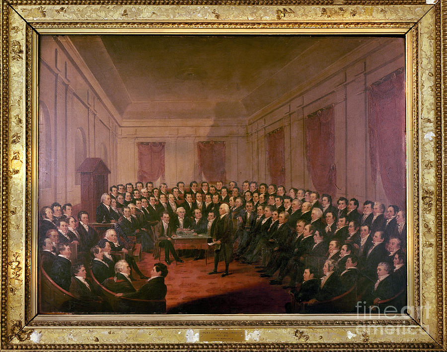 1830 Painting - Virginia Convention 1829 by Granger
