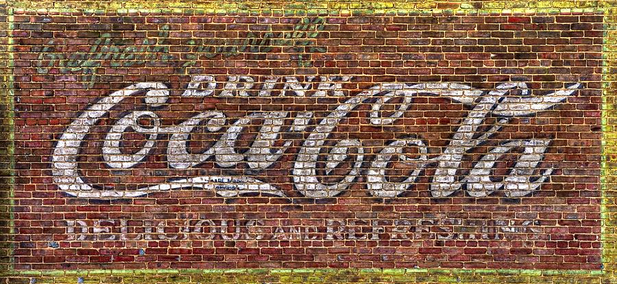 Virginia Country Roads - Vintage Drink Coca Cola Wall Mural - Front ...